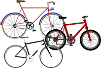 Different types of pedal powered machines